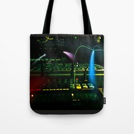 Synth Spark Tote Bag