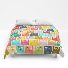 summer cats Comforters