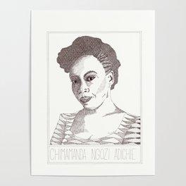 Chimamna Ngozi Adichie Poster