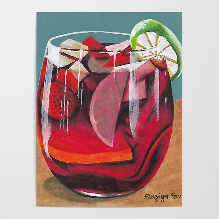 Fruit cocktail Poster