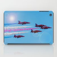 aviation iPad Cases featuring ARROWS IN FLIGHT by Catspaws