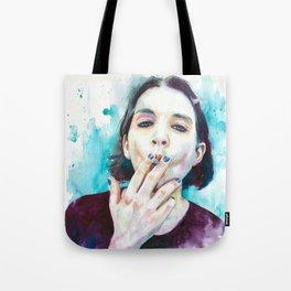 25th frame of my mind (Brian Molko) Tote Bag