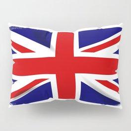Union Jack Grunge Pillow Sham
