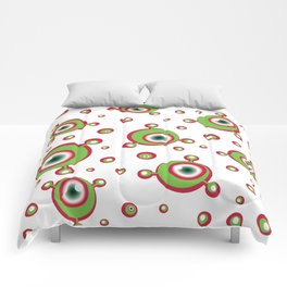 Justified Paranoia Holiday Comforters