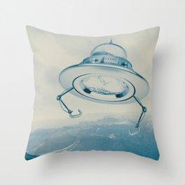 UFO III Throw Pillow