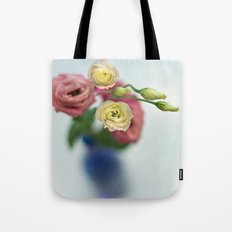 Vintage Irish Rose Tote Bag