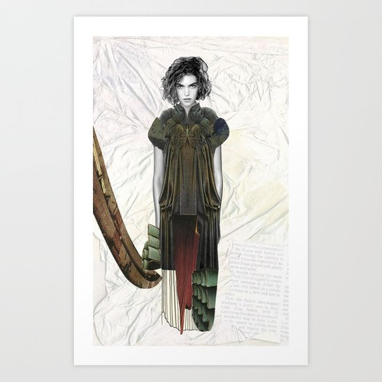 Curtain Art Print