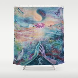 Divine Sacred Union Shower Curtain