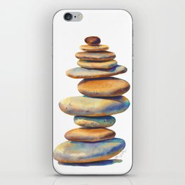 The Stone Mind iPhone Skin