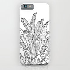 Palm Beach - Black and White iPhone 6s Slim Case