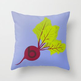 Beets by Dre Throw Pillow