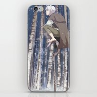 coasters iPhone & iPod Skins featuring I Can See You, Jack by k.b. doodles
