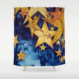 Star keeper Shower Curtain