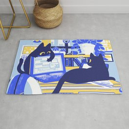 Working From Home Rug