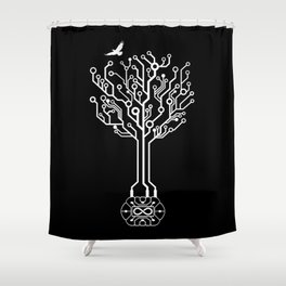 Spirit of the Commander Shower Curtain