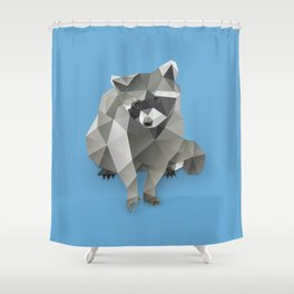 Racoon. Shower Curtain