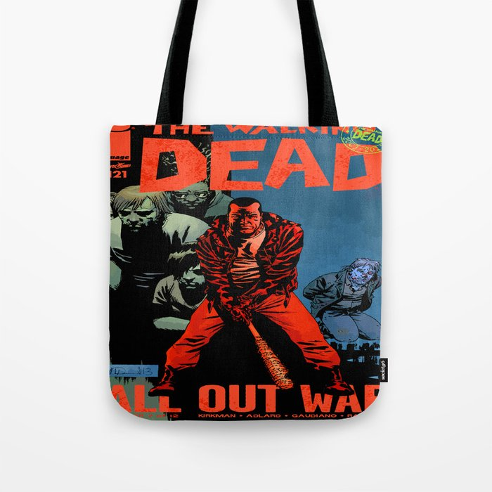 The Walking Dead : The dead are talking Tote Bag