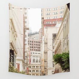 San Francisco Daydreaming in Union Square Wall Tapestry