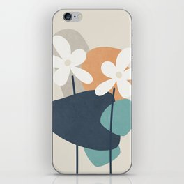 Abstract Flowers 3 iPhone Skin
