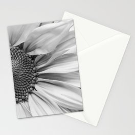 The Flower (Black and White) Stationery Cards