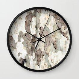 Bark Map Wall Clock