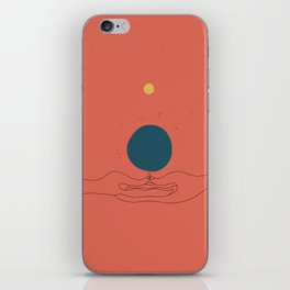 Dhyana mudra iPhone Skin