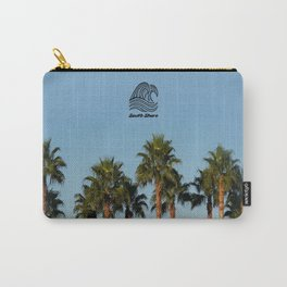 South Shore Palm Trees Design Carry-All Pouch