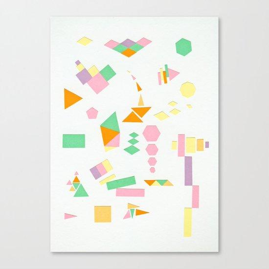Juxtapose Canvas Print
