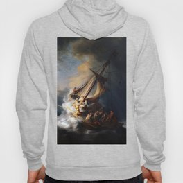 The Storm on the Sea of Galilee-Rembrandt Hoody