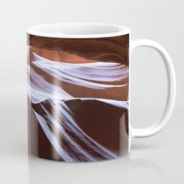 Sun Overhead in Lower Antelope Canyon, Arizona Coffee Mug
