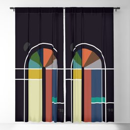 door Blackout Curtain