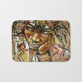 Basquiat Bath Mat