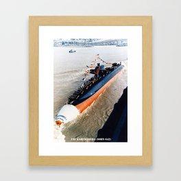 USS KAMEHAMEHA (SSBN-642) Framed Art Print