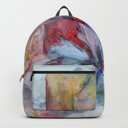 Layered Panels Backpack