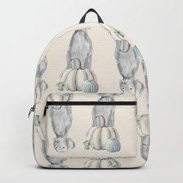 WEIMARANERS AND WHITE PUMPKINS Backpack