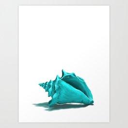 Aura the Seashell - illustration Art Print