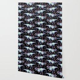 Dinocorn Unisaur Fantasy Roaring Dinosaur Unicorn T-Rex Wallpaper