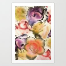There are Roses without Thorns Art Print