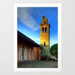 Arms Tower of David City Art Print
