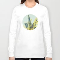 palm tree Long Sleeve T-shirts featuring Palm by Esther Ní Dhonnacha