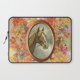 AUTUMN HORSE PORTRAIT Laptop Sleeve