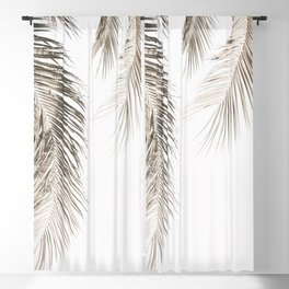 Dried Palm Leaves Blackout Curtain