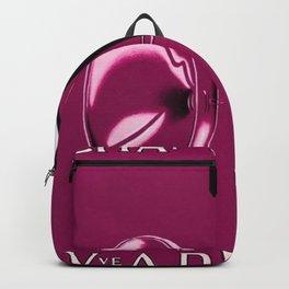 Vintage Champagne Pink Veuve A. Devaux, Paris, France Jazz Age Roaring Twenties Advertisement Poster Backpack