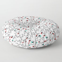 Flower Pattern Floor Pillow