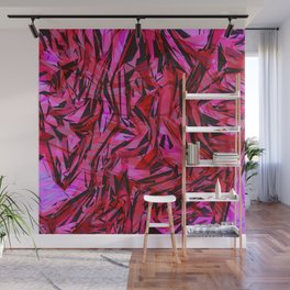 red flow Wall Mural