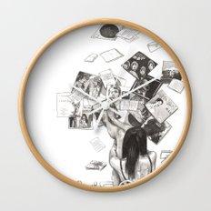 Norwegian Wood Film Poster Wall Clock
