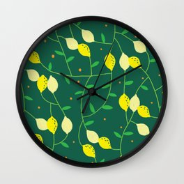Lemontree Wall Clock
