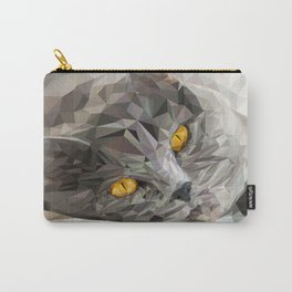 British CAT Low poly Carry-All Pouch