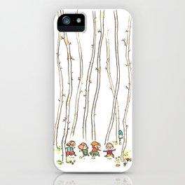Le Loup iPhone Case