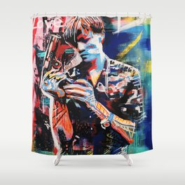 Sucker Love Shower Curtain